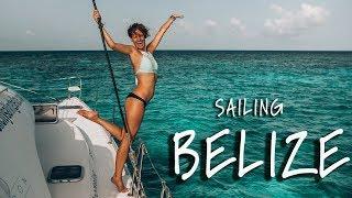 Living on a Sailboat in Belize! Travel Vlog  Pt.1