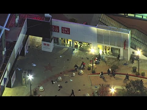 Looting At Ross, Uniqlo On Second Night Of George Floyd Protest In California