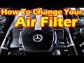 How To Change The Air Filter On Your Mercedes-Benz S500 W220