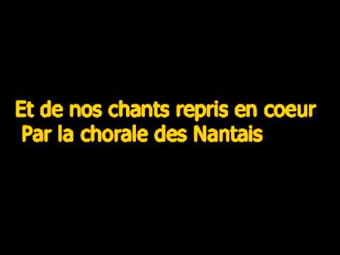 Hymne a la Beaujoire ( Paroles )