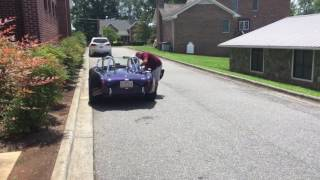 Taking people for rides in my dads AC Cobra