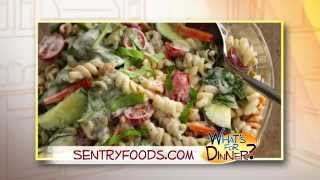 What's For Dinner? - Broccoli & Ranch Pasta Salad