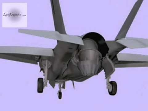 F-35B Lightning II - Vertical Takeoff Lift System Animation