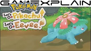 Pokémon Let's Go Pikachu & Eevee - 5 Pokémon Walking Animations Revealed (Venusaur, Golem, & More!)