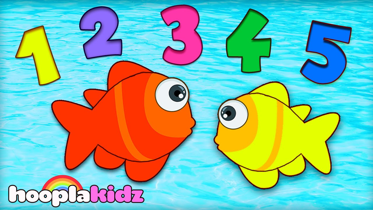 Numbers Song 12345 Once I Caught A Fish Alive Nursery