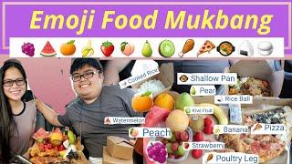 Emoji Food Mukbang in the car