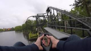 Bobbejaanland vlog - alle achtbanen