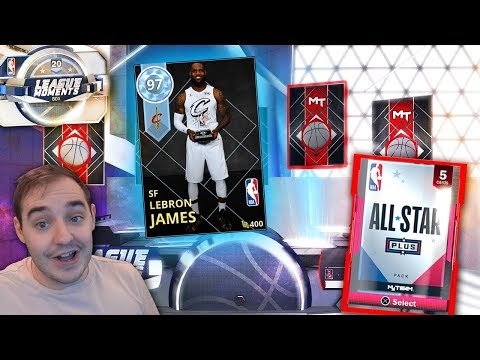 NBA 2K18 My Team DIAMOND ALL STAR MVP LEBRON JAMES! THIS CARDS INSANE!!!