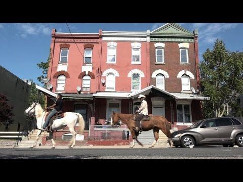 Riding with the 'concrete cowboys' of Philadelphia