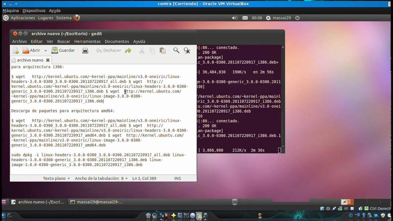 instalar kernel 3 0 en ubuntu y linux mint