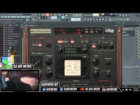 U-He Presswerk Compressor Overview