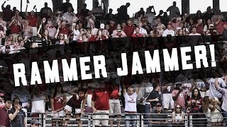 watch alabama fans take over kyle field with rammer jammer