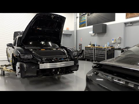 Porsche Taycan reportedly getting enhanced battery pack to improve range
