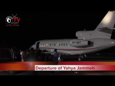 Jammeh leaving for exile