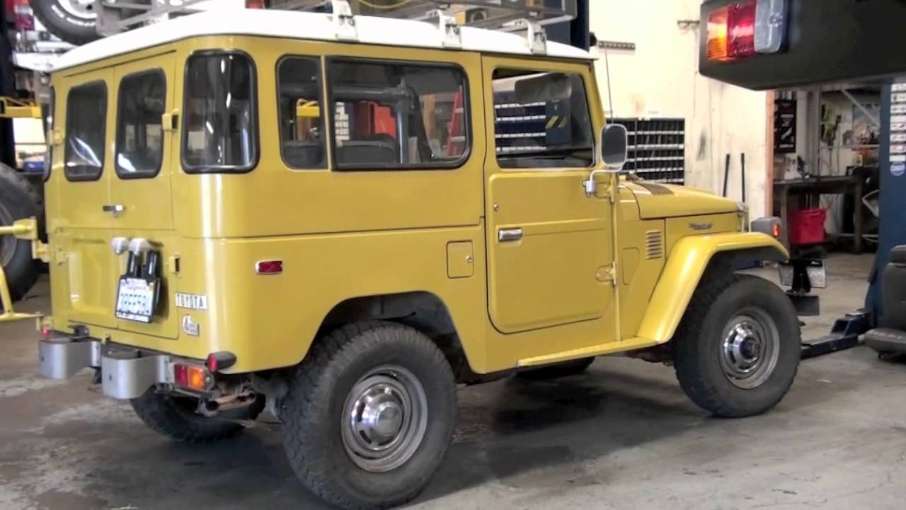 1979 Toyota Land Cruiser FJ40 For Sale by TLC