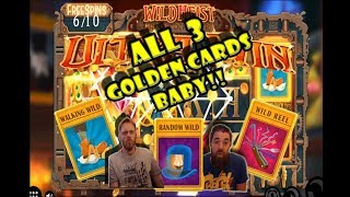 INSANE Wild Heist run ALL 3 Gold card!!!!!