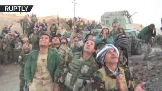 قوات البيشمركة تسقط طائرة من دون طيار لتنظيم داعش