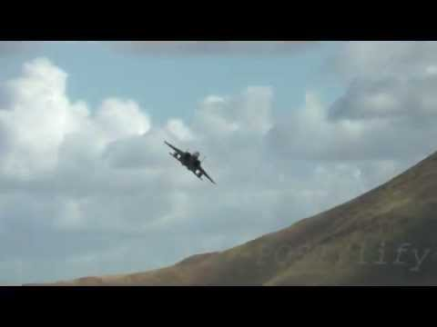 United States Air Force F-15c Low Level Mach-Loop
