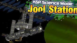 KSP: Massive Single Launch JOOL SPACE STATION + Deep Space Relays