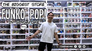 Vlog | The Biggest Funko Pop! Store in Singapore & More Collectibles #funko #funkopop
