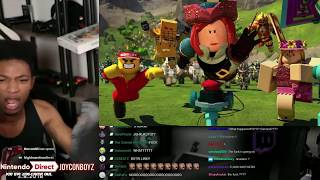 Etika reage ao ROBLOX no NINTENDO SWITCH!???
