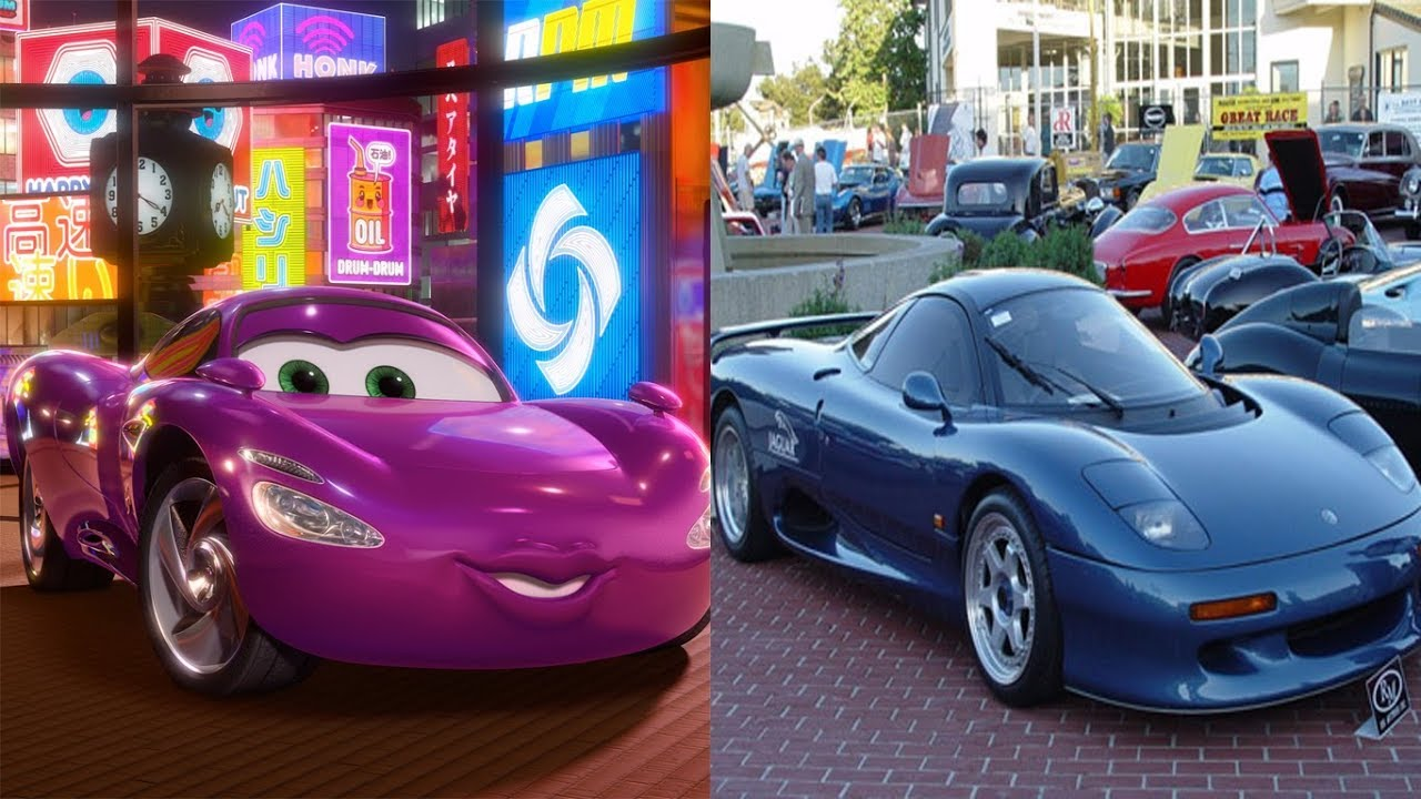 Cars 2 Characters In Real Life 2018 Lightning Mcqueen Cartoon For