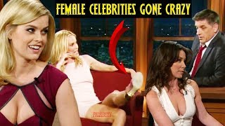 Craig Ferguson - Female Celebrities Continuously Flirting & Being Perverts(Part-2)😂😂