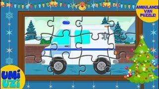 Ambulance Van   Puzzle Game   s For Kids  ♥♥♥ Umi Uzi