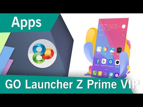 Descargar GO Lanzador EX Prime VIP MOD | Última Versión | APK | 2019