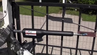 How to install mighty mule automatic gate opener