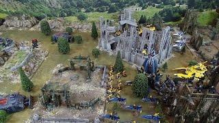 Warhammer 40K Battle Report Eldar Craftworlds vs Space Wolves 2000