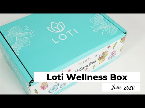 Loti Wellness Box Unboxing June 2020: Wellness Subscription Box