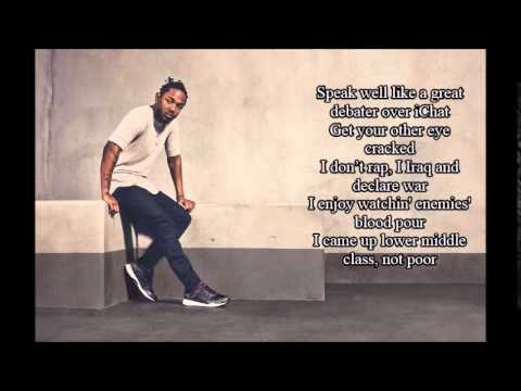 kendrick lamar - Picture Me Rollin ( HD Lyrics) - YouTube