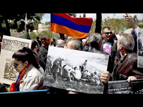 День траура. В Армении вспоминают жертв Геноцида в Османской Турции