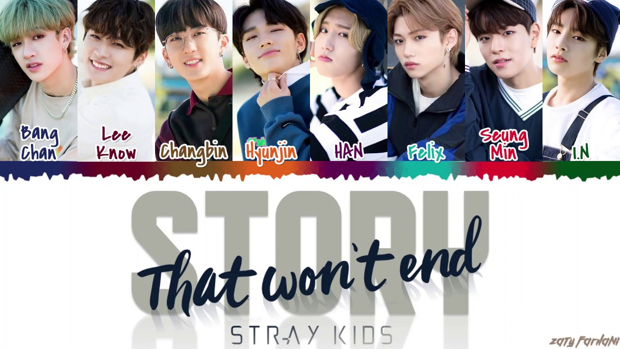 Stray Kids – 'Story That Won't End' (끝나지 않을 이야기) Lyrics [Color Coded_Han_Rom_Eng] #1