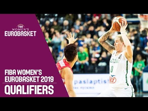 Lithuania v Hungary - Full Game - FIBA Women's EuroBasket 2019 Qualifiers