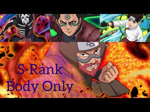 Naruto Blazing - Impact! Molten Torrent! Roshi Impact , S-Rank , Body Only