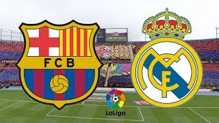... the el clasico is here and upon as messi battle hazard barca madri...