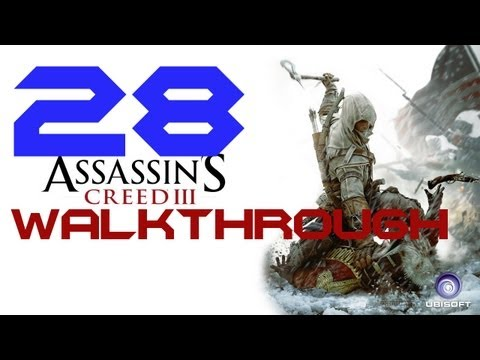 Assassin's Creed 3 Walkthrough w/Commentary - PART 28 - LEXINGTON AND CONCORD