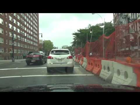 Driving in New york city With Commentary