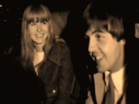 Jane Asher y Paul Mccartney love 19631968