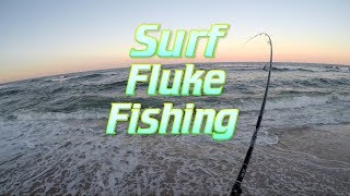 Surf Fluke Jigging with Keitech and Gulp