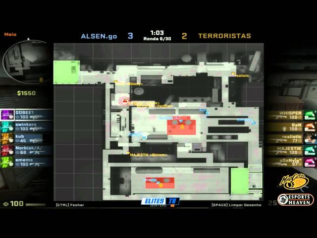 Esports Heaven MadCatz CSGO Tournament eLite9 vs ALSEN
