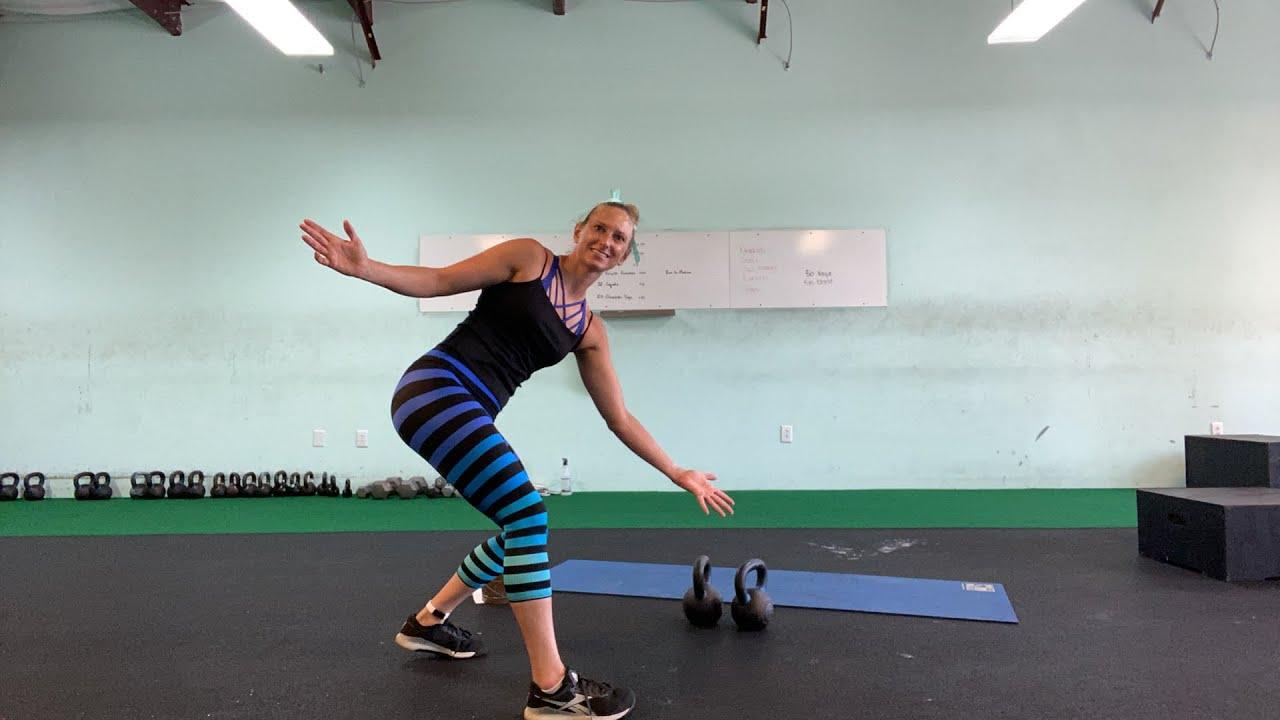 Double Kettlebell workout | Full 12 Min AMRAP