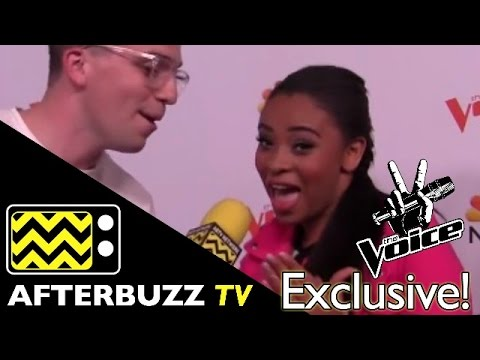 Koryn Hawthorne @ The Voice Top 12 Red Carpet   AfterBuzz TV