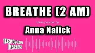 Anna Nalick - Breathe (2 AM) (Karaoke Version)