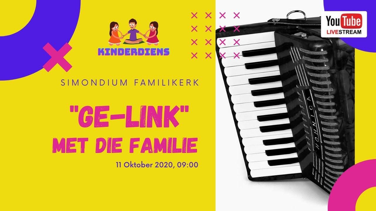 Kinderdiens - 11 Oktober 2020