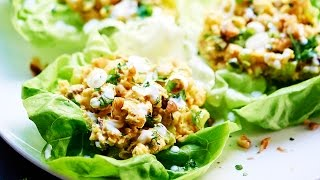 Healthy Chickpea Lettuce Wraps Recipe - Show Me The Yummy - Episode 5