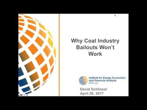 IEEFA Webinar: Why Coal Bailouts Won't Work