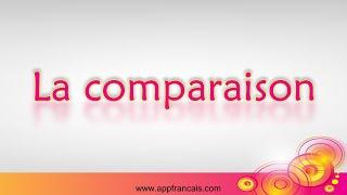 Les figures d'analogie - La comparaison